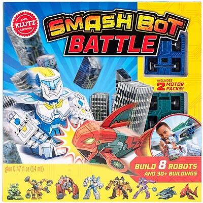 Smash Bot Battle Book Kit-