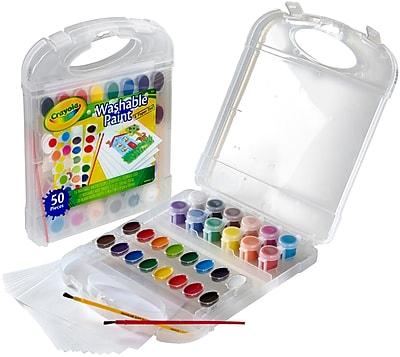 Crayola Washable Paint & Paper Set-