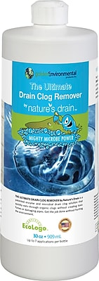 Golden Environmental The Ultimate Drain Clog Remover by Natures Drain, 30 fl. oz. (GE-ND-1L)