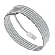 Purtech Apple MFI Certified Lightning Cable -6.6 Feet, White (IP5-2M-WH)