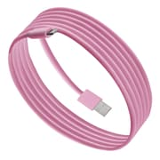 Purtech Apple MFI Certified Lightning Cable -6.6 Feet, Pink (IP5-2M-PK)