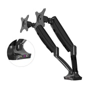 "Fleximounts M6HU 10""-27"" Dual Monitor Mount"