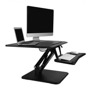 "Flexispot F3MB 32"" Compact Standing Desk, MFD Desktop and Metal Base"