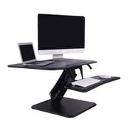 "Flexispot F3B 27"" Compact Standing Desk, MFD Desktop and Metal Base"