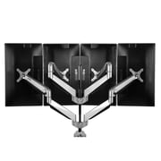 "Loctek D7Q 10""-24"" Quad Monitor Mount"