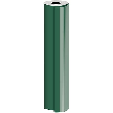 JAM Paper® Industrial Size Bulk Wrapping Paper Rolls, Matte Hunter, 1/2 Ream (834 Sq. Ft.), Sold Individually (165J92524417)