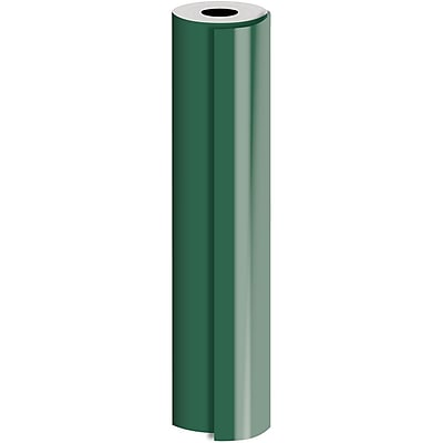 JAM Paper® Industrial Size Bulk Wrapping Paper Rolls, Matte Hunter, Full Ream (1666 Sq. Ft.), Sold Individually (165J92524833)