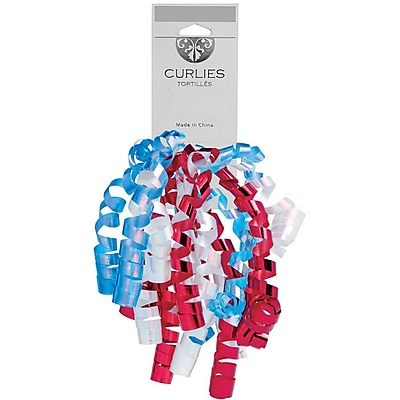 JAM Paper Curly Gift Bows, 7.25 x