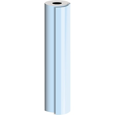 JAM Paper® Industrial Size Bulk Wrapping Paper Rolls, Matte Pastel Blue, (2082.5 Sq. Ft.), Sold Individually (165J90130833)
