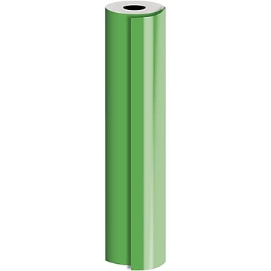 JAM Paper® Industrial Size Bulk Wrapping Paper Rolls, Matte Green, 30