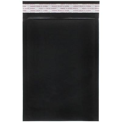 JAM Paper® Bubble Lite Padded Mailers, Size 0, 6 x 8.5, Black Kraft, 25/pack (kp0bl)