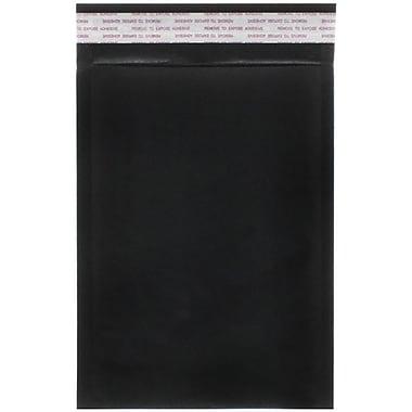 JAM Paper® Bubble Lite Padded Mailers, Size 00, 5 x 8.5, Black Kraft, 25/Pack