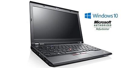 Refurbished Lenovo Thinkpad X230, Intel i5 2.6 GHz, 16GB RAM, 500GB HDD, 12