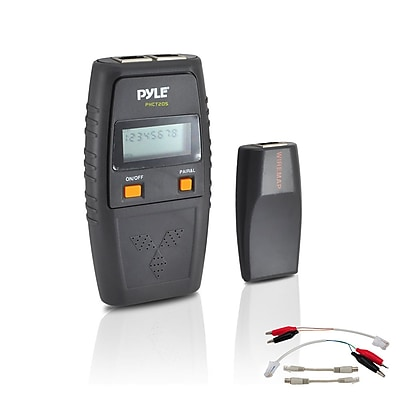 Pyle Network Cable Tester With Test Leads Included (PHCT205)