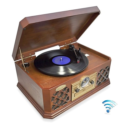 Pyle Home Bluetooth Vintage Classic-Style Turntable Record