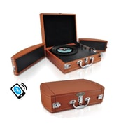 Pyle Home Bluetooth Classic Vinyl Record Player Turntable (PVTTBT8BR)