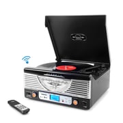 Pyle Home Retro Vintage Classic Style Bluetooth Turntable Vinyl Record Player with Recording Ability (PTT30BK) (93599198M)