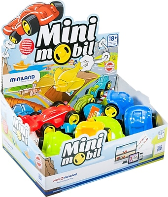 Miniland Educational Go Collection Mini-Mobile, Set of 15 (45120)
