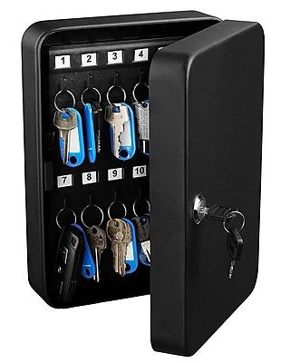 Adir Office Key Steel Security Cabinet Box 30 Keys Capacity (681-30-BLK)