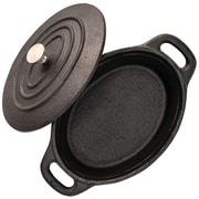 """Starfrit 5.3"""" Mini Cast-Iron Cocotte with Lid (062143-008-0000)"""