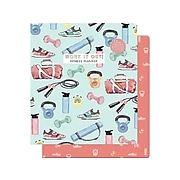 """Punch Studio 9.5"""" x 11.5"""" Monthly Planner, Multicolor (25337)"""