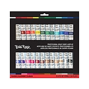 Brea Reese Non Washable Acrylic Paint, Assorted Colors, 0.4 Fl. Oz., 24/Pack (34508)