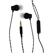 Billboard BB573 Extra Bass Stereo Earbuds with Microphone, Black