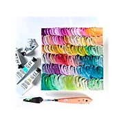 Brea Reese Non Washable Acrylic Paint, Assorted Colors, 0.4 Fl. Oz., 12/Pack (32056)