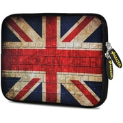Amzer 10.5 Inch Designer Tablet Sleeve Shock Absorbing Case Weather Resistant Neoprene Cover - Antique Union Jack