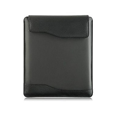 AMZER Ballistic Nylon Vertical Sleeve Pouch Case for iPad, Samsung Tabs, Android Tablets - Black (Fit Upto 10 x 7.5 Inch)