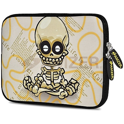 Amzer 10.5 Inch Designer Tablet Sleeve Shock Absorbing Case Weather Resistant Neoprene Cover - Baby Sketch