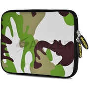 Amzer 10.5 Inch Designer Tablet Sleeve Shock Absorbing Case Weather Resistant Neoprene Cover - Army
