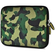Amzer 10.5 Inch Designer Tablet Sleeve Shock Absorbing Case Weather Resistant Neoprene Cover - Army Camouflage