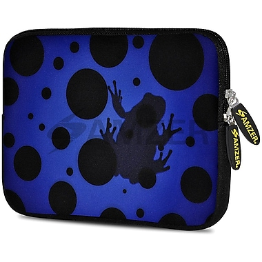 Amzer 10.5 Inch Designer Tablet Sleeve Shock Absorbing Case Weather Resistant Neoprene Cover - Blue Night Universe