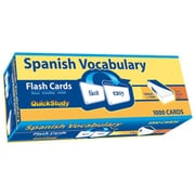 BarCharts Spanish Vocabulary Flash Cards (BARCH4435)
