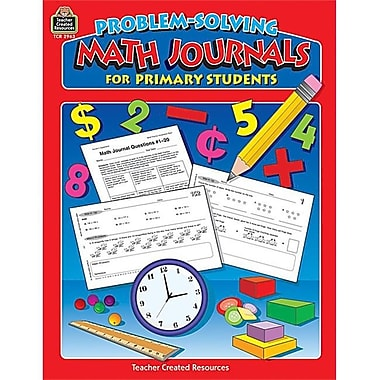 Teacher Created Resources Problem-Solving Math Journals for Primary Students (TCCR650)