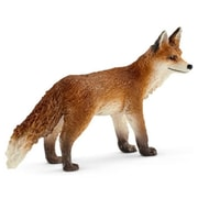Schleich North America Fox Toy Figure, Red (TRVAL105527)