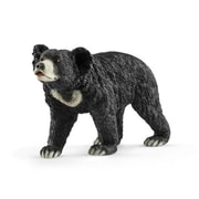 Schleich North America Sloth Bear Toy Figure, Black (TRVAL105526)