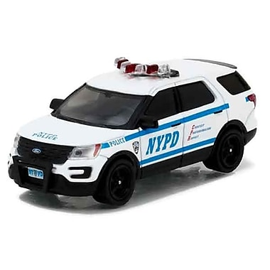 Greenlight 2016 Ford Interceptor Utility Police Decal Sheet Hobby 1 by 64 Diecast Model Car (DTDP3957)
