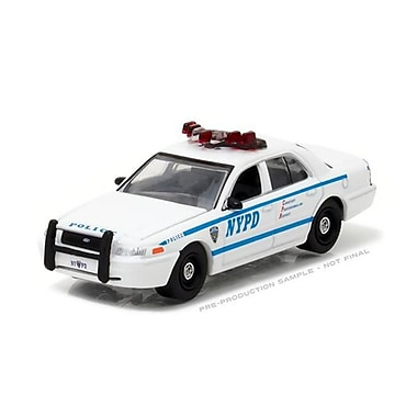 Greenlight 2011 Ford Crown Victoria Police New York Police Department , 1 by 64 Diecast Model Car (DTDP3969)