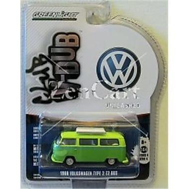 Greenlight 1968 Volkswagen T2 Type 2 Westfalia Campmobile Hippie Dippy Weather Van, 1 by 64 Diecast Model (DTDP3888)