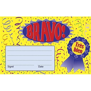 Roylco French Certificate - Bravo, 25-pkg (ROYC592)