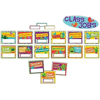 Eureka Manufacturing Sharp Bunch Job Chart Mini Bulletin Board Set (ESSEN20652)