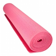 Brybelly Holdings 0.125 in. Compact Yoga Mat with No, Slip Texture, Pink (BRYBL4752)