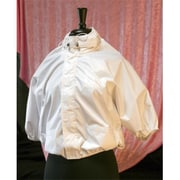 Shower Shirt Water-Resistant Garment for Surgery Patients, White, Size PLUS, 2X-4X (SWRT001)