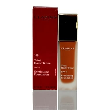 Clarins 1.2 oz. Everlasting Foundation for SPF 15 119 Cocoa (CSMP8441)