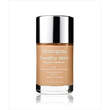 Neutrogena Healthy Skin Liquid Makeup Broad Spectrum SPF 20, Natural Tan, Pack Of 2 (MCDS4640)