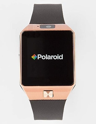 Polaroid Smart Watch Exercise Tracker Gold and Black (SW1502G/BLK)