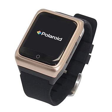 Polaroid Smart Watch Exercise Tracker Gold and Black (SW1505G/BLK)
