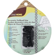 Dritz Nailhead Trim 5yd-Black